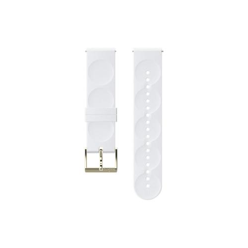 Suunto 20mm Urban 1 Λουράκι Σιλικόνης White Gold Μέγεθος S