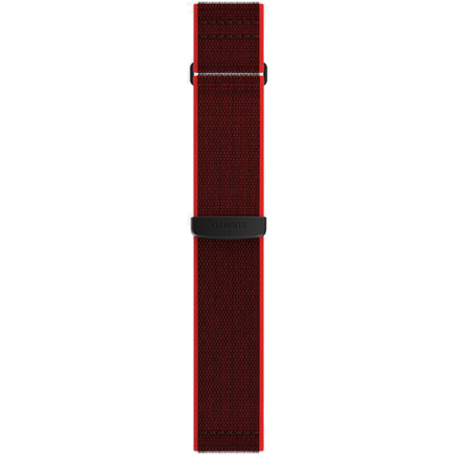 Suunto 24mm Athletic 6 Υφασμάτινο Λουράκι Velcro Κόκκινο Μέγεθος Μ