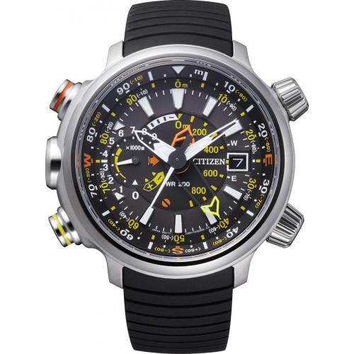 Citizen ρολόι Eco-Drive  με μαύρο λουράκι BN4021-02E