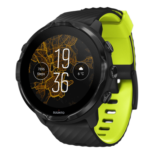 Ρολόι Suunto 7 Black Lime