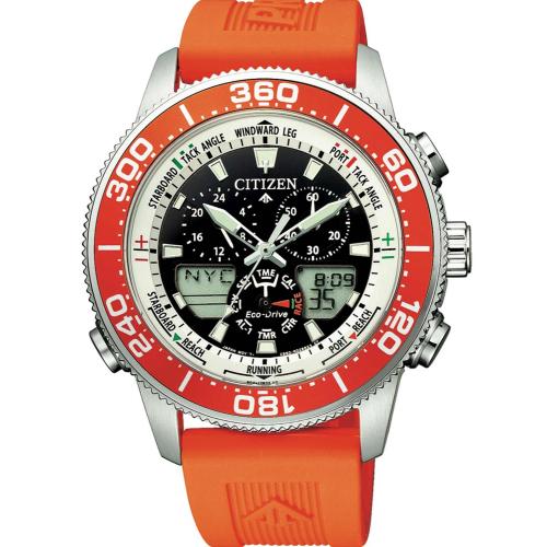 Citizen ρολόι Marine Eco-Drive Yacht JR4061-18E