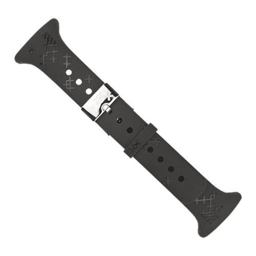 Suunto Μ-Series Λουράκι Mαύρο Γυναικείο Σταυρωτό Σχέδιο