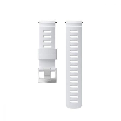 Suunto 24mm Dive 1 Καταδυτικό Λουράκι Σιλικόνης Λευκό Μέγεθος Μ