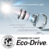 Citizen Ρολόι Eco Drive με μπλε λουράκι BN0151-17L