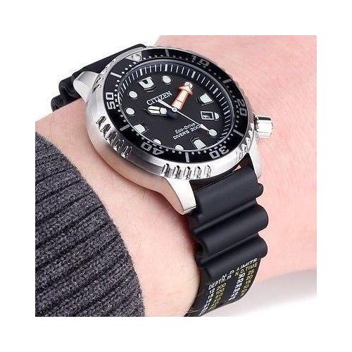 Citizen Ρολόι Promaster Diver΄s με λουράκι από καουτσούκ NY0040-09E