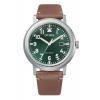 Ρολόι Citizen Platform Pilot με μπεζ λουράκι AW1620-13X