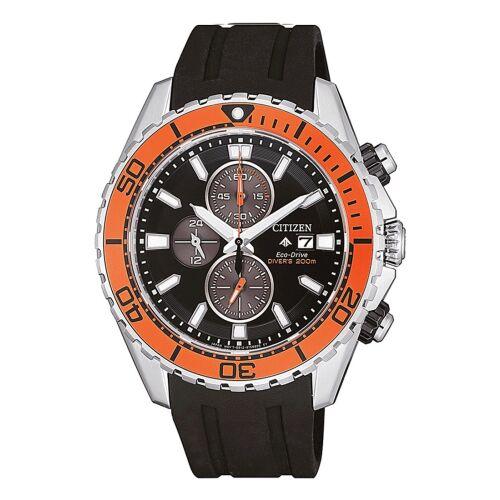 Citizen ρολόι Eco Drive CA0718-13E καουτσούκ λουράκι