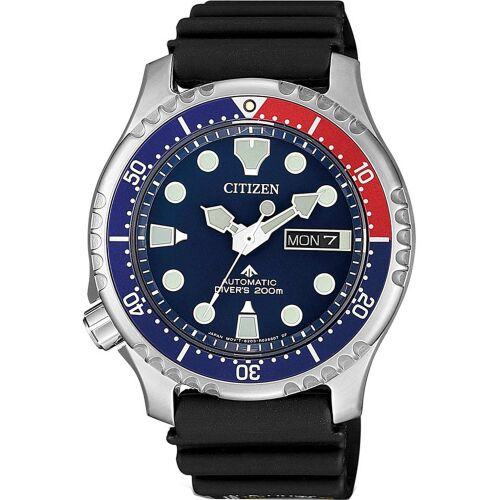 Citizen Ρολόι Promaster Diver΄s με λουράκι από Καουτσούκ NY0086-16L
