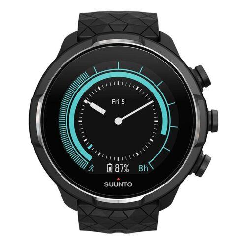 Ρολόι Suunto 9 Baro Titanium Black Silicone Strap