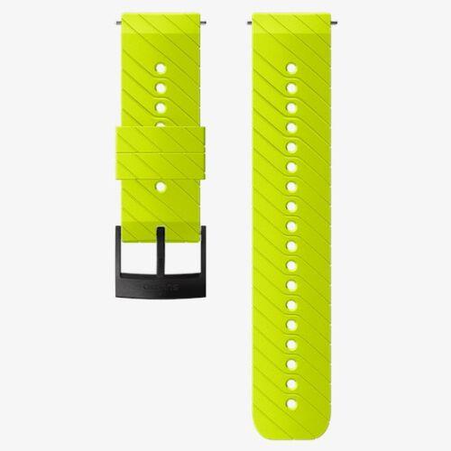 Αθλητικό λουρί σιλικόνης Suunto Lime 24mm Size M