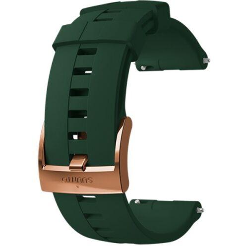 SUUNTO 24mm ATHLETIC 4 SILICONE STRAP FOREST COPPER SIZE M